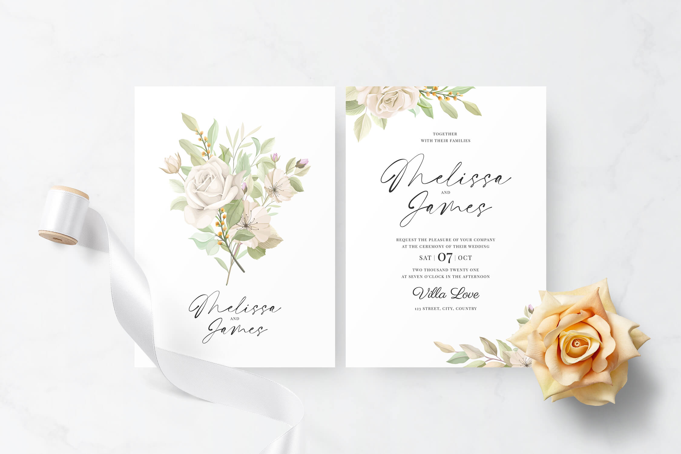 Basari Design - Invitation 002