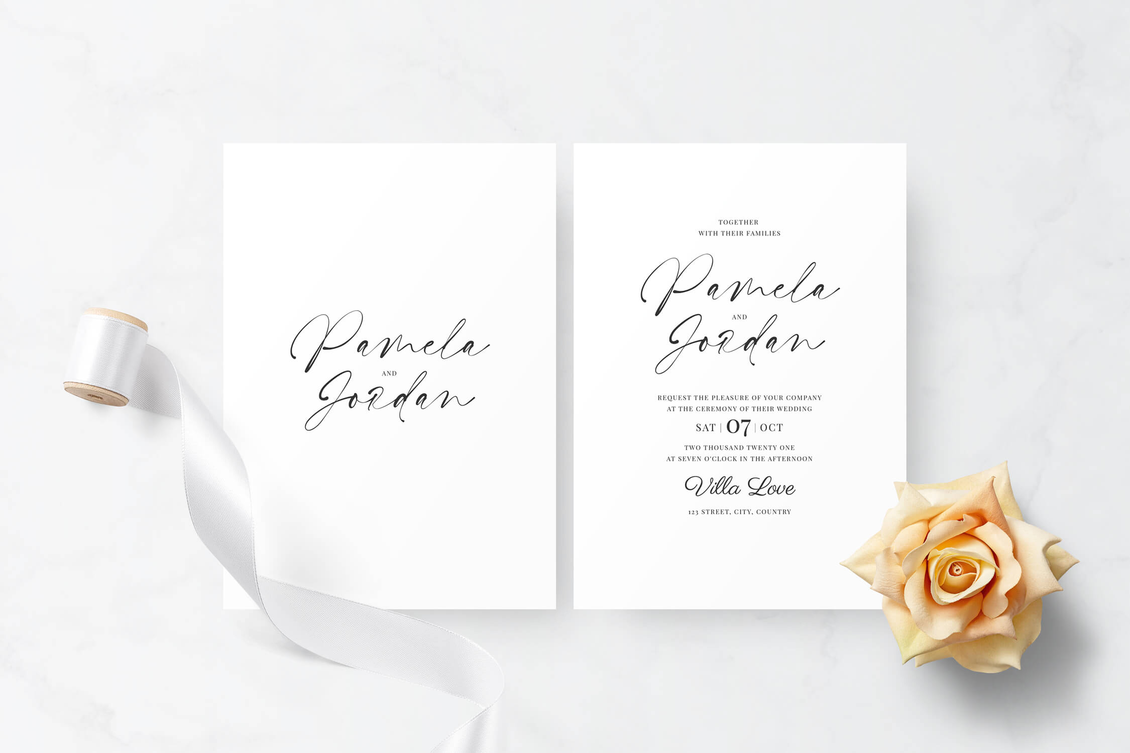 Basari Design - Invitation 005